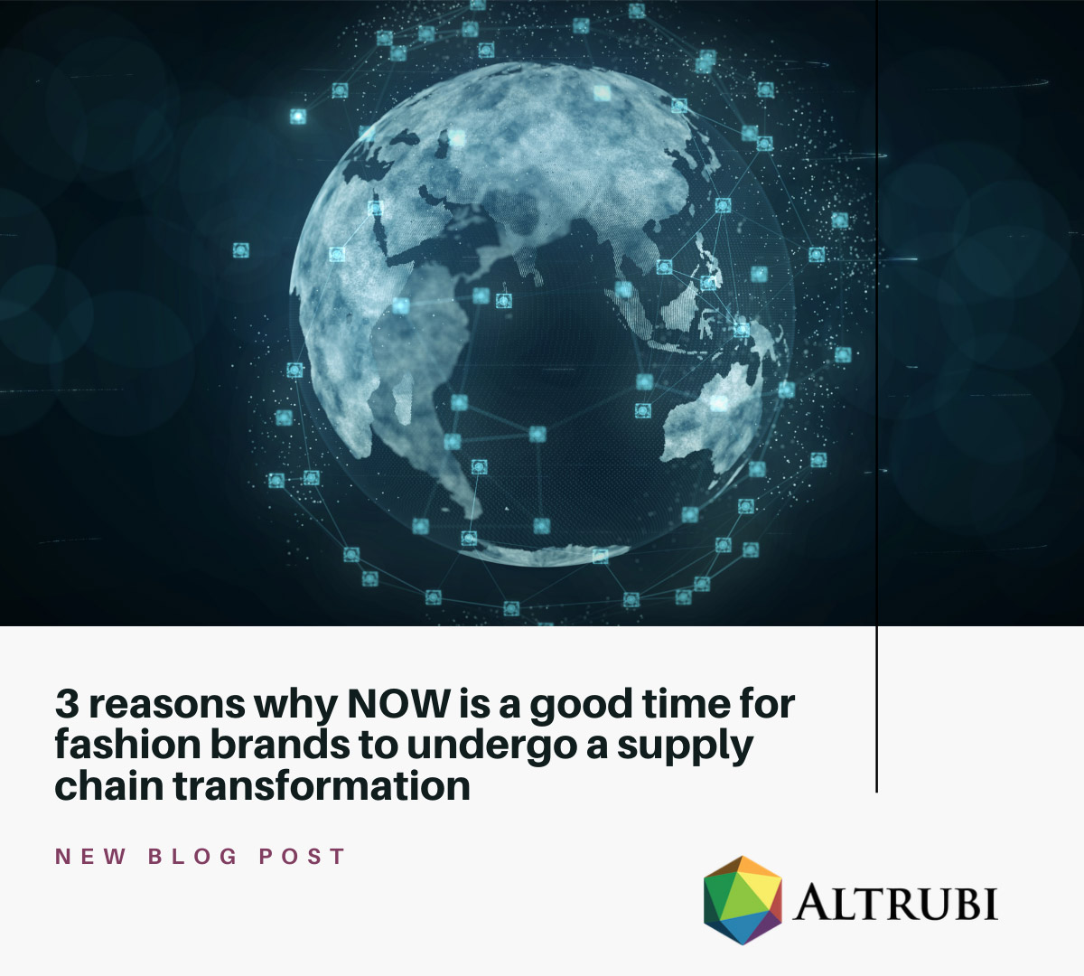 Three reasons why now, is a good time for fashion brands to undergo a supply chain transformation.