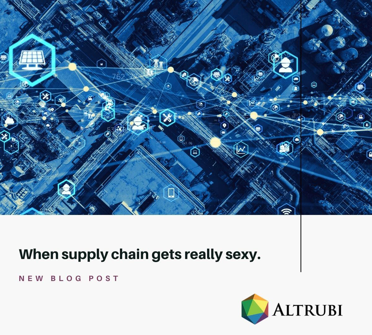 When Supply Chain Gets Really Sexy.
